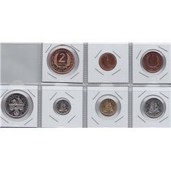 World Coins - British Caribbean 7 Coin Proof Set, 1955
