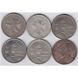 World Coins - Cuba - Lot of 6 Pesos