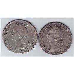 World Coins - France - Lot of 2