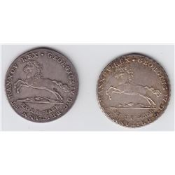 World Coins - Germany, 16 Gute Groschen, 1826 & 1829