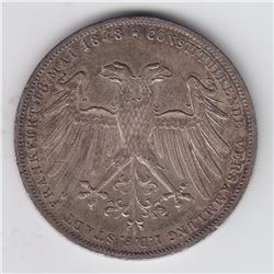 World Coins - Germany, 1 Gulden, 1848