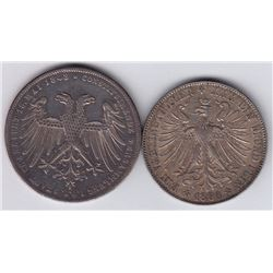 World Coins - Germany, Frankfurt - Lot of 2
