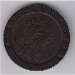 World Coins - Great Britain, 2 Pence, 1797