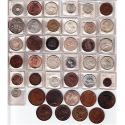 World Coins - Group of British Colonies & Great Britain