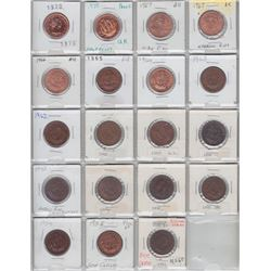 World Coins - Collection of Queen Elizabeth II pre-decimal & King George VI Coinage with good catalo