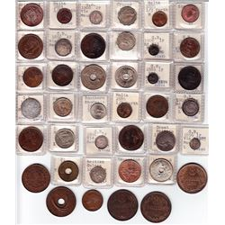 World Coins - Group of Great Britain & British Colonies