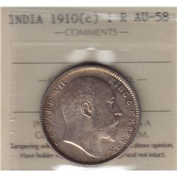 World Coins - India, 1 Rupee, 1910c