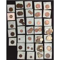 World Coins - India - Lot of 85 Coins