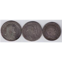 World Coins - Italy, Naples - Lot of 3