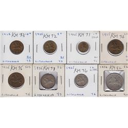 World Coins - Lithuania - Lot 8