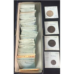 World Coins - Mexico - Lot of 107 Coins