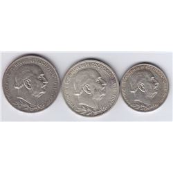 World Coins - Montenegro - Lot of 3