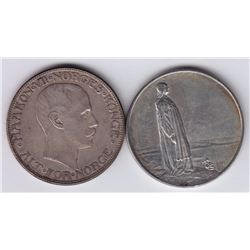 World Coins - Norway - Lot of 2