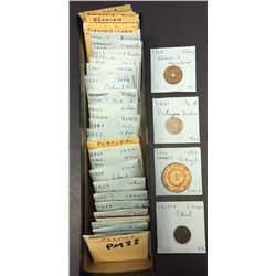 World Coins - Poland, Portugal, Romania, Portugese India, etc. - Lot of 77 Coins