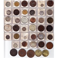 World Coins - Group of South America, Central America, France & French Colonies
