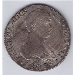 World Coins - Spain - 8 Reales, 1809S