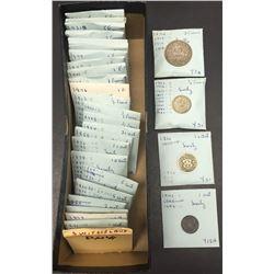 World Coins - Switzerland - Lot of 136 Coins