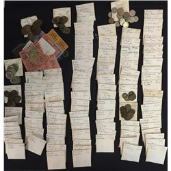 World Coins - Miscellaneous Lot of 449 Transportation Tokens US