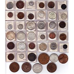 World Coins - European Mixture - Lot of 40 coins