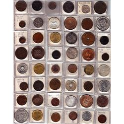 World Coins - Worldwide Lot of 60 coins