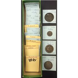 World Coins - Various World Coins, Tokens, etc. - Lot of 297 Coins