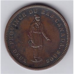 Br 521. Banque du Peuple Penny, 1837.