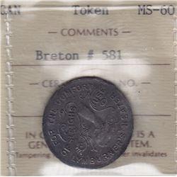 Br 581. Lymburner's Card, 1886.
