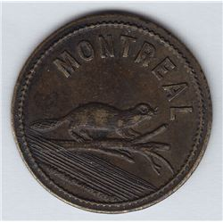 Br 622. V(ital) R(aparie) Saloon token, 1886.