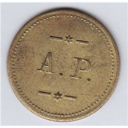 Br 629. A(natole) P(apineau). 5 Cents In Trade.