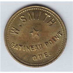 Br 632.  W. Smith's  Token.