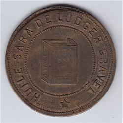 Br 647. Ludger Gravel's Advertising Token