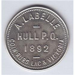 Br 652. A. Labelle's Token, 1892.
