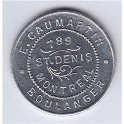 Br 657. E. Caumartin's Token