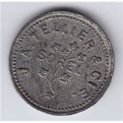 Br 662. J. A. Tellier & Cie Advertising Token, Sorel.