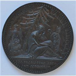 Canadian Medals - Montreal Taken, 1760.