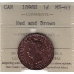 1898H One Cent