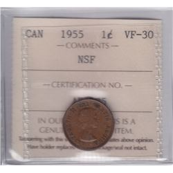 1955 One Cent NSF