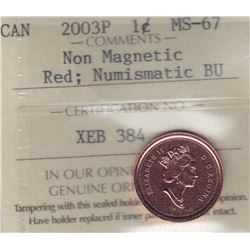 2003P One Cent