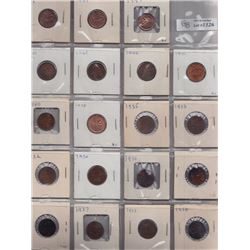 One Cents - Lot of 32