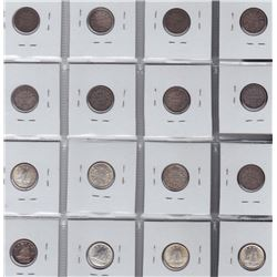 Lot of 46 Ten Cents