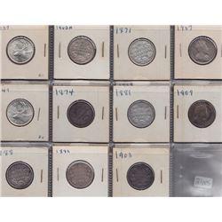 Twenty Five Cents - Lot of 21