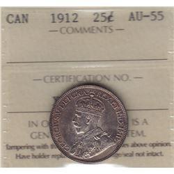 1912 Twenty Five Cents