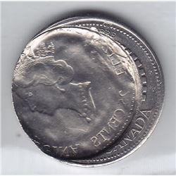 1999 December Millennium Twenty Five Cent Error
