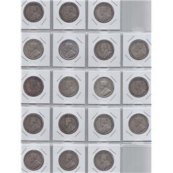 1931 Fifty Cents - Lot of 18