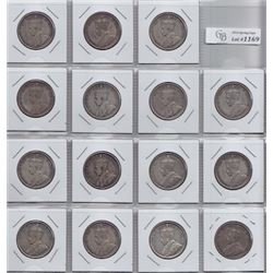 1934 Fifty Cents - Lot of 15