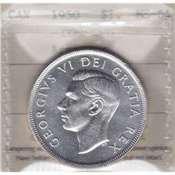 1950 Arnprior Silver Dollar
