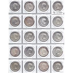 1951 Silver Dollars - Lot of 20