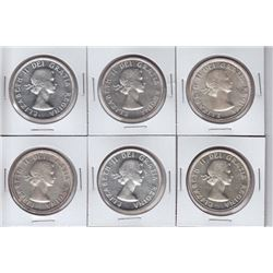 1954 Silver Dollars - Lot of 20