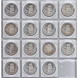 1958 Silver Dollars - Lot of 15