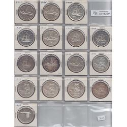 Silver Dollars - Lot of 36